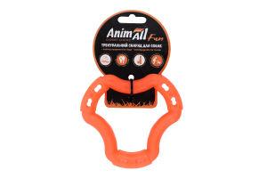 Снаряд тренувальний для собак 12см помаранчевий №88202 Кільце Fun AnimAll 1шт