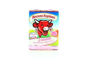 Сыр 50% плавленный з балыком Веселая коровка 90г