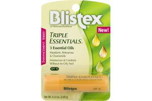 Blistex Triple Essentials Mandarin, Palmarosa & Chamomile