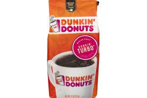 Dunkin' Donuts Medium Roast Ground Coffee Dunkin' Turbo
