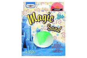 Н-р д/твор Strateg Magic sand с формочкой в ассорт