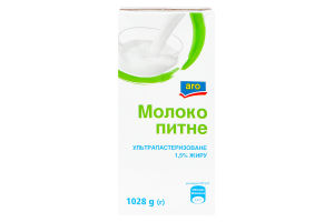 ARO МОЛОКО 1,5% 1028 Г