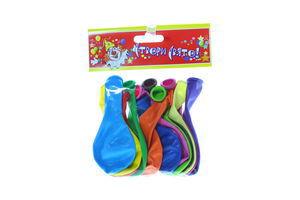 Кульки Створи Свято! повітряні пастель д-26см 12шт