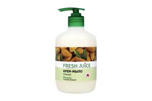 Крем-мыло с миндальным молочком Fresh Juice 460мл