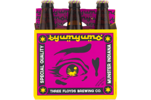 Three Floyds Munster Indiana American Session Ale - 6 PK