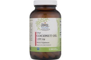 Nature's Promise 1,000mg Coconut Oil - 120 CT