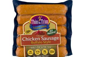 Thin'n Trim Chicken Sausage Buffalo Style