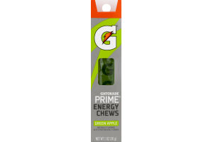 Gatorade Prime Energy Chews Green Apple