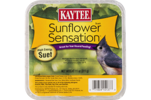 Kaytee Sunflower Sensation Suet