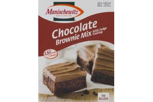 Manischewitz Chocolate Brownie Mix with Fudge Frosting