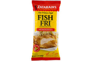 Zatarain's New Orleans Style Fish Fri Seafood Breading Wonderful