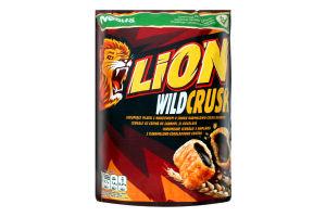 Завтрак сухой злаковые подушечки с шоколадом Wildcrush Lion д/п 350г