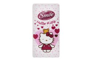 Хусточки паперові 20х20см 3-х шарові Hello Kitty Smile 10шт