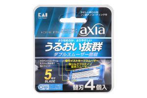 Картридж сменный для станка мужской Axia Kai 4шт