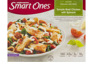 Smart Ones Tomato Basil Chicken With Spinach
