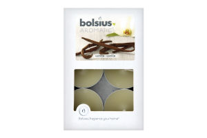 Свечи чайные Bolsius Ваниль