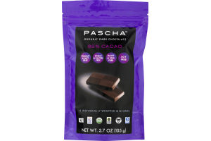 Pascha Organic Dark Chocolate 85% Cacao - 15 CT