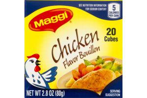 Maggi Bouillon Cubes Chicken Flavor - 20 CT