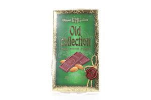 Шоколад ХБФ Old collection молочный с миндалем к/у 200г