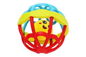 Игрушка-погремушка для детей от 6мес №Б324 Lindo 1шт