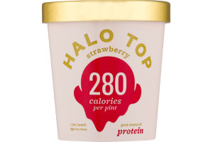 Halo Top Light Ice Cream Strawberry