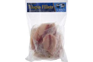 Double Blue Tilapia Fillets