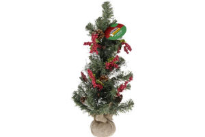 "Smart Living Holiday 24"" Table Tree"