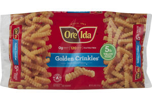 Ore-Ida Golden Crinkles French Fried Potatoes Value Size
