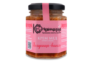 Крем-мед Клубника-ваниль Конюшина с/б 220г