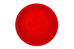 Тарелки одноразовые красные