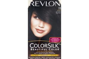 Revlon ColorSilk 11 Soft Black Permanent Hair Color