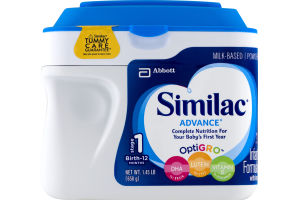 Similac Advance Infant Formula with Iron Complete Nutrition