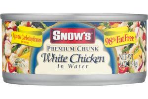 Snow's Premium Chunk White Chicken In Water