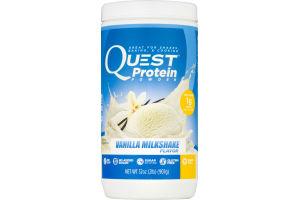 Quest Protein Powder Vanilla Milkshake Flavor