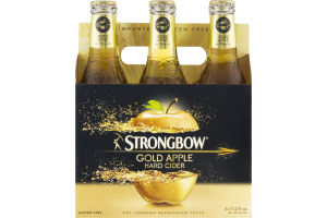 Strongbow Gold Apple Hard Cider - 6 PK