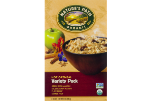 Nature's Path Organic Hot Oatmeal Variety Pack - 8 CT