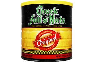 Chock Full O' Nuts Original Roast Ground Coffee