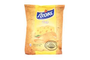 Чіпси зі смаком сиру Люкс м/у 71г