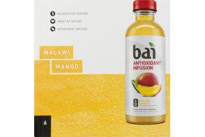 Bai Antioxidant Infusion Beverage Malawi Mango - 6 CT