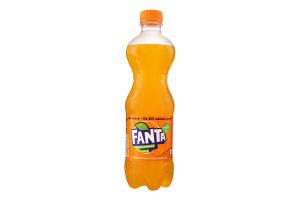 Напій безалкогольний сильногазований з апельсиновим соком Fanta п/бут 0.5л