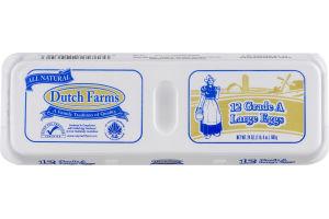 Dutch Farms Grade A Large Eggs - 12 CT