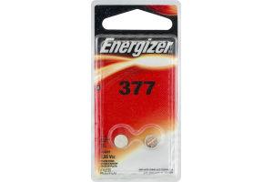 Energizer Silver Oxide Batteries 377 1,55V - 2 CT