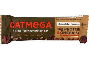 Oatmega Grass-Fed Whey Bars Brownie Crisp