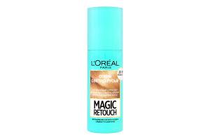 LOR_MAGIC RETOUCH тонуючий спрей 75 для митт. маск. сивих корен. волос. дуже світло-русявий