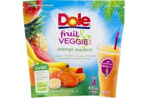 Dole Fruit & Veggie Blends Orange Medley
