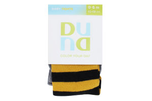 Колготки дитячі Duna Baby tights №4935 62-68 жовтий