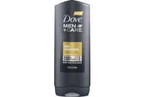 Dove Men+Care Body And Face Wash Oil Control