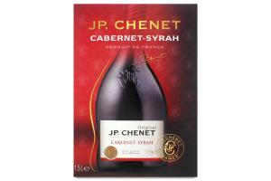 Вино J.P.Chenet Cabernet-Syrah 12,5% 1,5л х3
