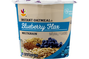 Ahold Instant Oatmeal Multigrain Blueberry Flax