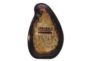 Чай черный Basilur Map Special цейлонский